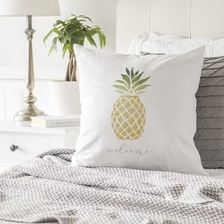 "Pineapple 16"" Throw Pillow"