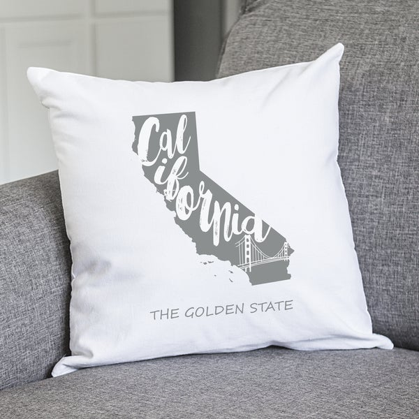 "My State 16"" Throw Pillow"