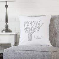 "Family Tree 16"" Throw Pillow"