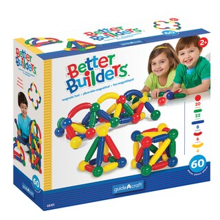 Guidecraft Better Builders, 60 Piece Set