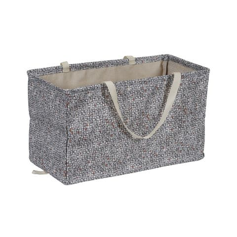 KRUSH CONTAINER Rectangle Tote Bag, Geometric