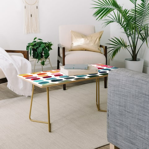 Stephanie Corfee Color Palette Coffee Table