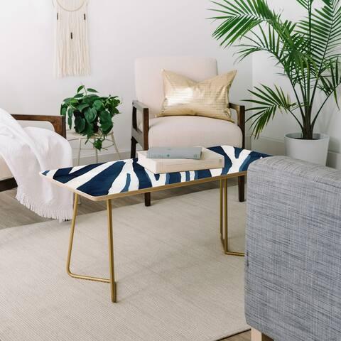 Deny Designs Blue Zebra Coffee Table (2 leg options)