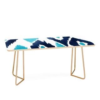 Natalie Baca Malibu Blue Ikat Coffee Table
