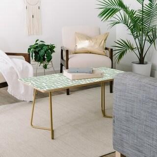 Iveta Abolina Cobbler Square Sage Coffee Table
