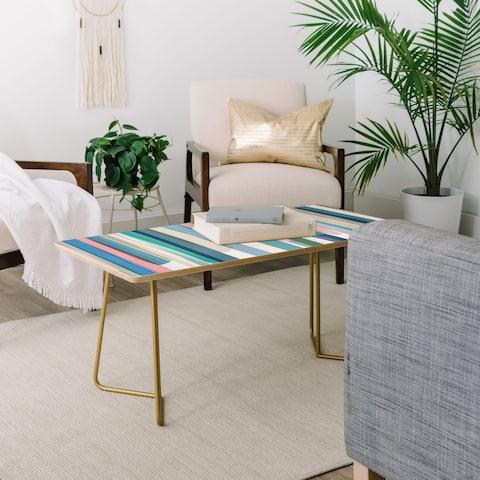 Mareike Boehmer Pastel Stripes 2 Coffee Table