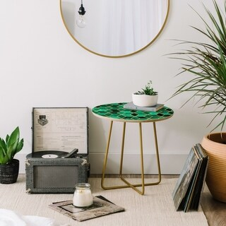 Elisabeth Fredriksson Emerald Cubes Round Side Table