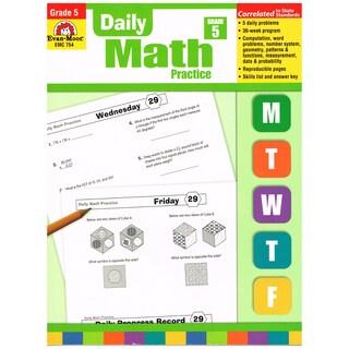 Daily Common Core Math Practice, Grade 5
