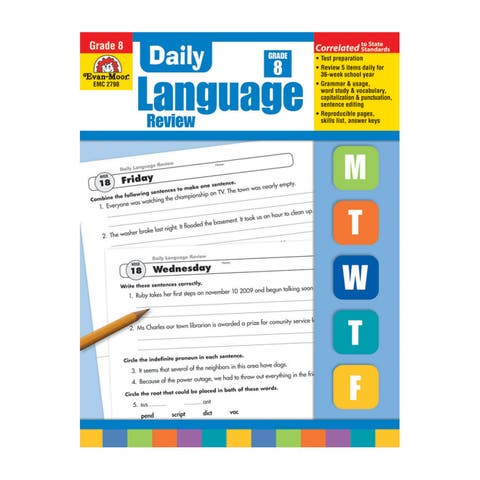 Daily Language Review Teachers Edition, Grade 8