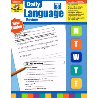 Daily Language Review Teachers Edition, Grade 5