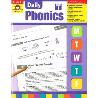 Daily Phonics Book, Grade 1