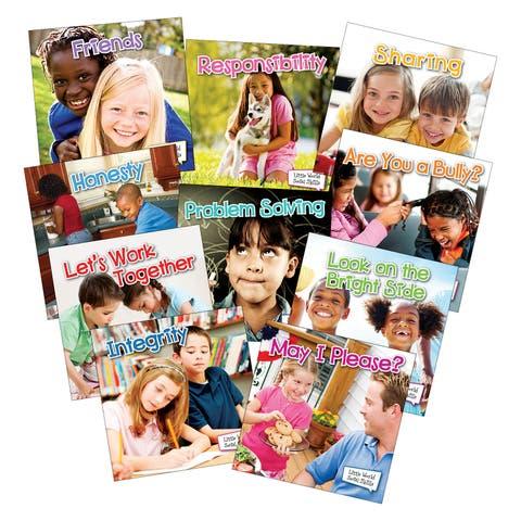 Little World Social Skills 10 Book Set