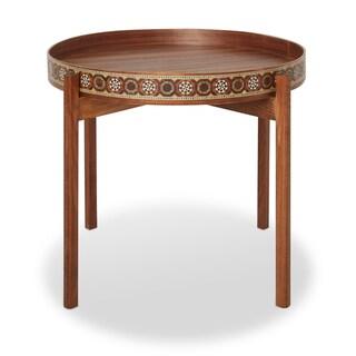 Handmade Round Tray Table (Lebanon)