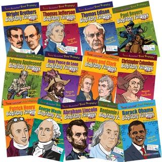 Biography FunBooks, Presidents, Inventors & Explorers