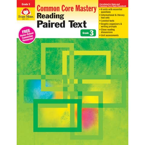 Reading Paired Text: Lessons for Common Core Mastery, Grade 3