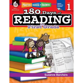 180 Days of Reading Book for First Grade