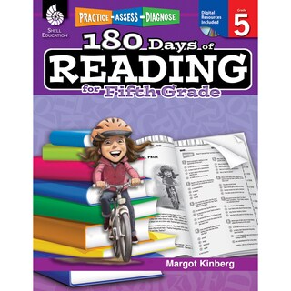 180 Days of Reading Book for Fifth Grade