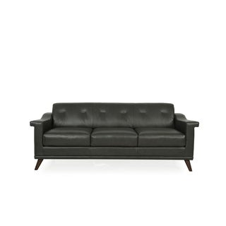 Merveilleux Kak Mid Century Full Leather Sofa