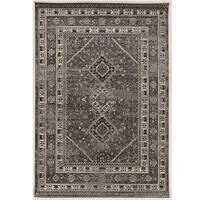Serape Collection Goravan Grey Rug (2' x 3')