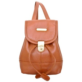 Leatherbay Dark brown Mini Backpack