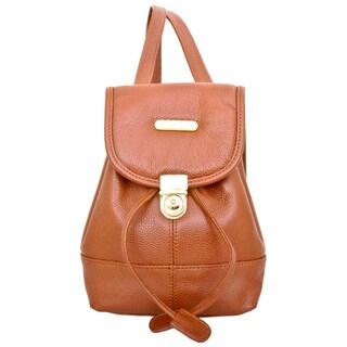 Leatherbay Dark brown Mini Backpack