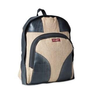 Handmade Burlap Backpack (Nepal)