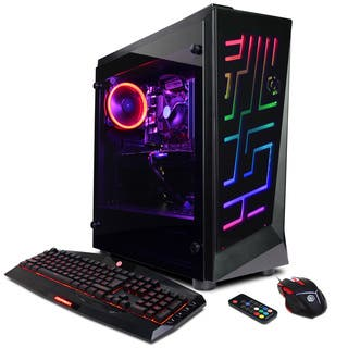 CYBERPOWERPC Gamer Master GMA450 w/ AMD Ryzen 3 1200 3.1GHz Gaming Computer|https://ak1.ostkcdn.com/images/products/17417049/P23653028.jpg?impolicy=medium