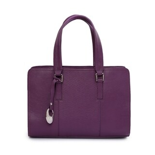 Phive Rivers Women's Leather Handbag (Purple)