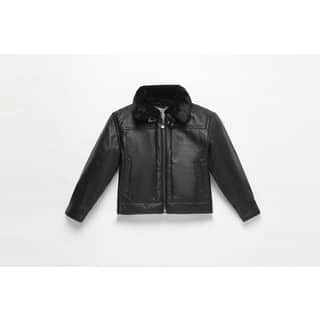 Wilda Kid's Leather Bomber Jacket|https://ak1.ostkcdn.com/images/products/17427418/P23662424.jpg?impolicy=medium
