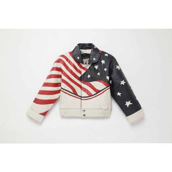 Kid's USA Leather Jacket