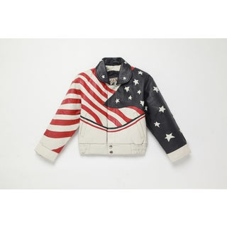 Kid's USA Leather Jacket (4 options available)