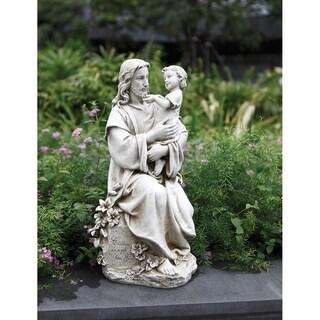 20 inch Jesus With Child Gdn