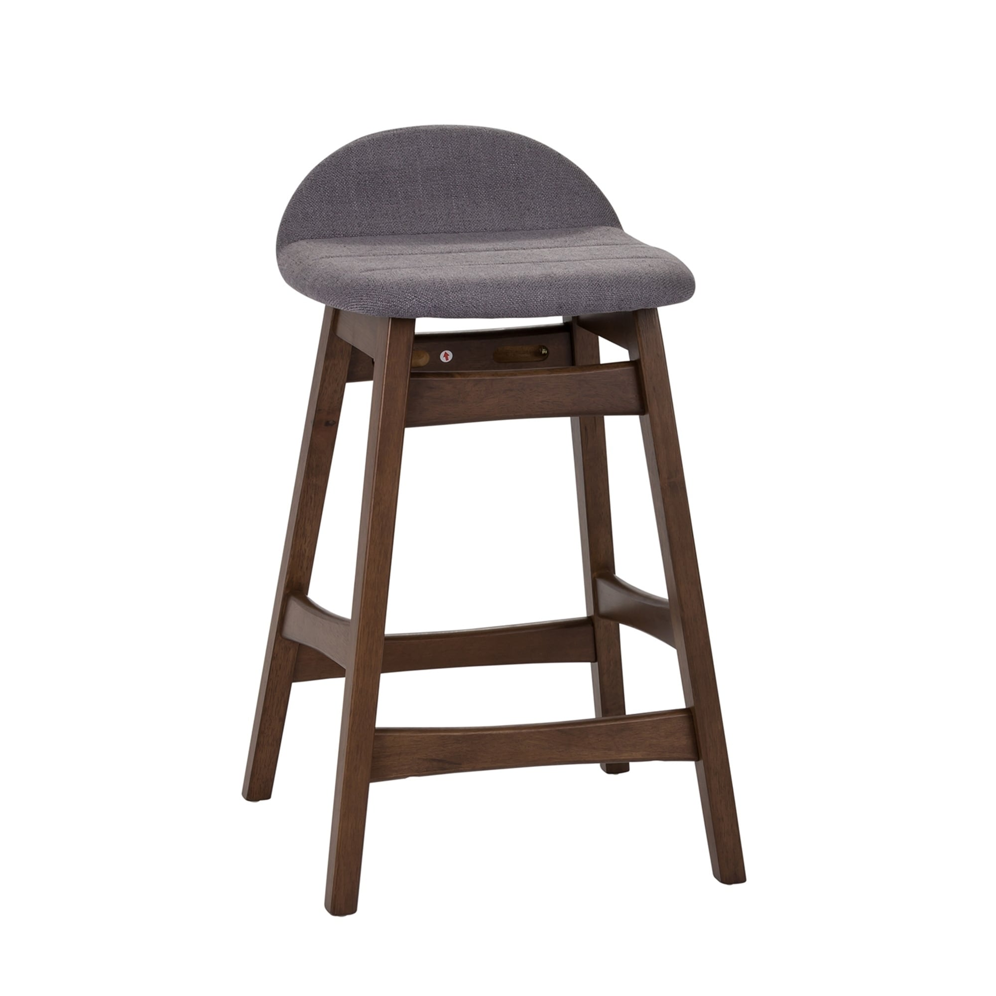 Fantastic Space Savers Modern Upholstered 24 Inch Counter Height Barstool Set Of 2 Machost Co Dining Chair Design Ideas Machostcouk