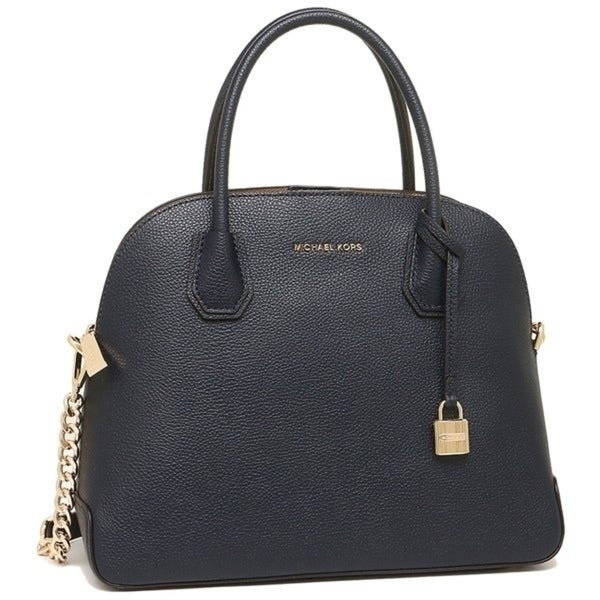 4aac8421b8a2 Shop MICHAEL Michael Kors Mercer Large Dome Satchel - On Sale - Free ...
