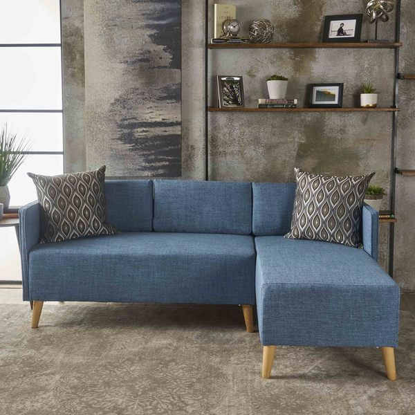 Augustus Modern Piece Chaise Sectional Sofa Set