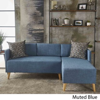 Augustus Modern 2-piece Chaise Sectional Sofa Set by Christopher Knight Home (4 options available)