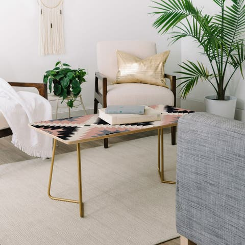 Deny Designs Modern Southwest Coffee Table