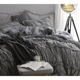 Torrent Handcrafted Series Duvet Cover - Gray