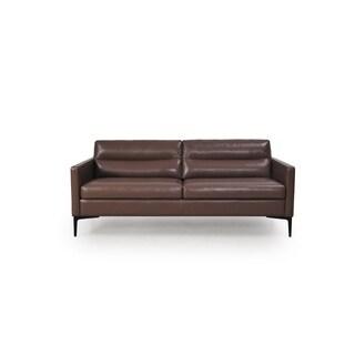 Selton Full Leather Contemporary Sofa