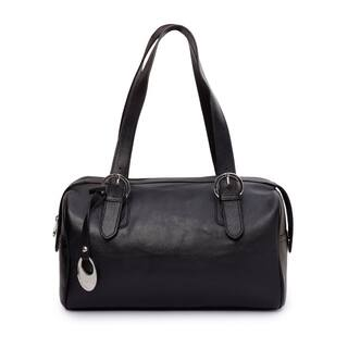 Phive Rivers Women's Leather Handbag (Black)|https://ak1.ostkcdn.com/images/products/17430246/P23664705.jpg?impolicy=medium