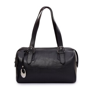 Phive Rivers Women's Leather Handbag (Black)