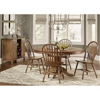 Carolina Crossing Antique Honey Finish Windsor Dining Chair
