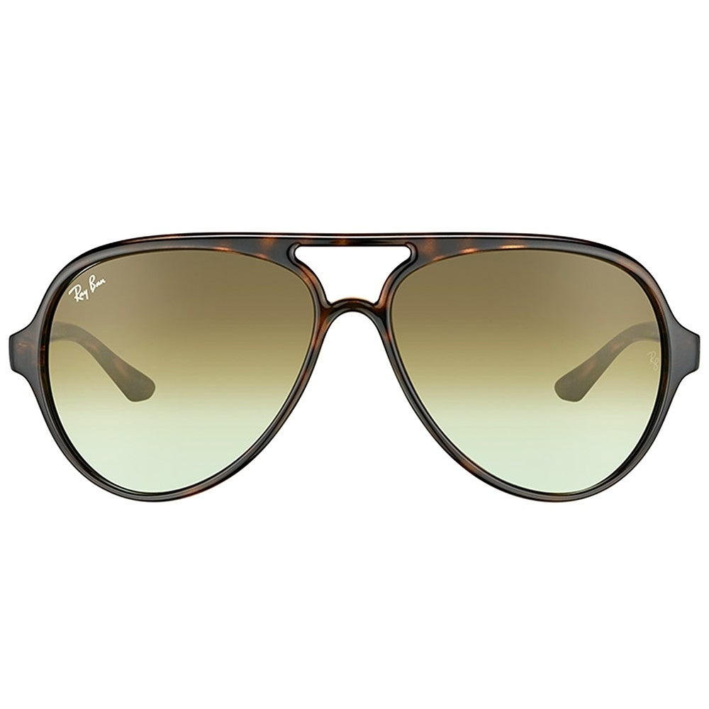 a8ae71be6f Shop Ray-Ban Aviator RB 4125 710/A6 Unisex Havana Frame Green Gradient Lens  Sunglasses - Free Shipping Today - Overstock - 17431627