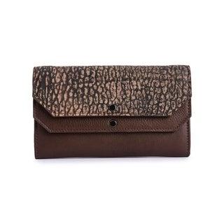 Women's Leather Wallet (Brown)