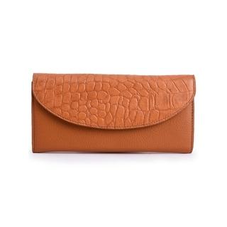 Women's Leather Wallet (Tan)