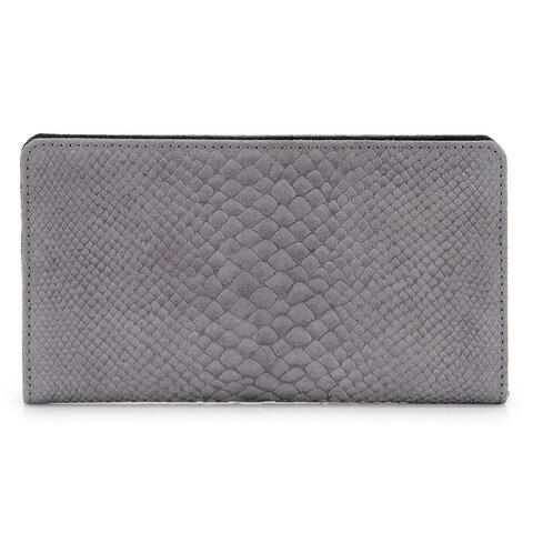 Women's Leather Wallet (Grey)