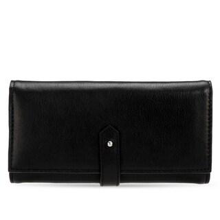 Women's Leather Wallet (Black)