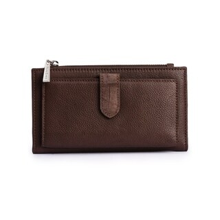 Women's Leather Wallet (Brown)