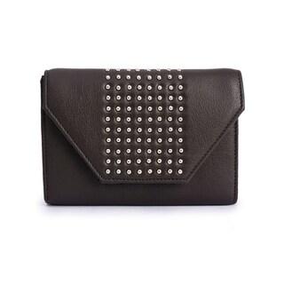 Women's Leather Wallet (Dark Grey)