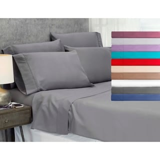 Lezeth Collection Luxury Ultra Comfort 6 Piece Bed Sheet Set